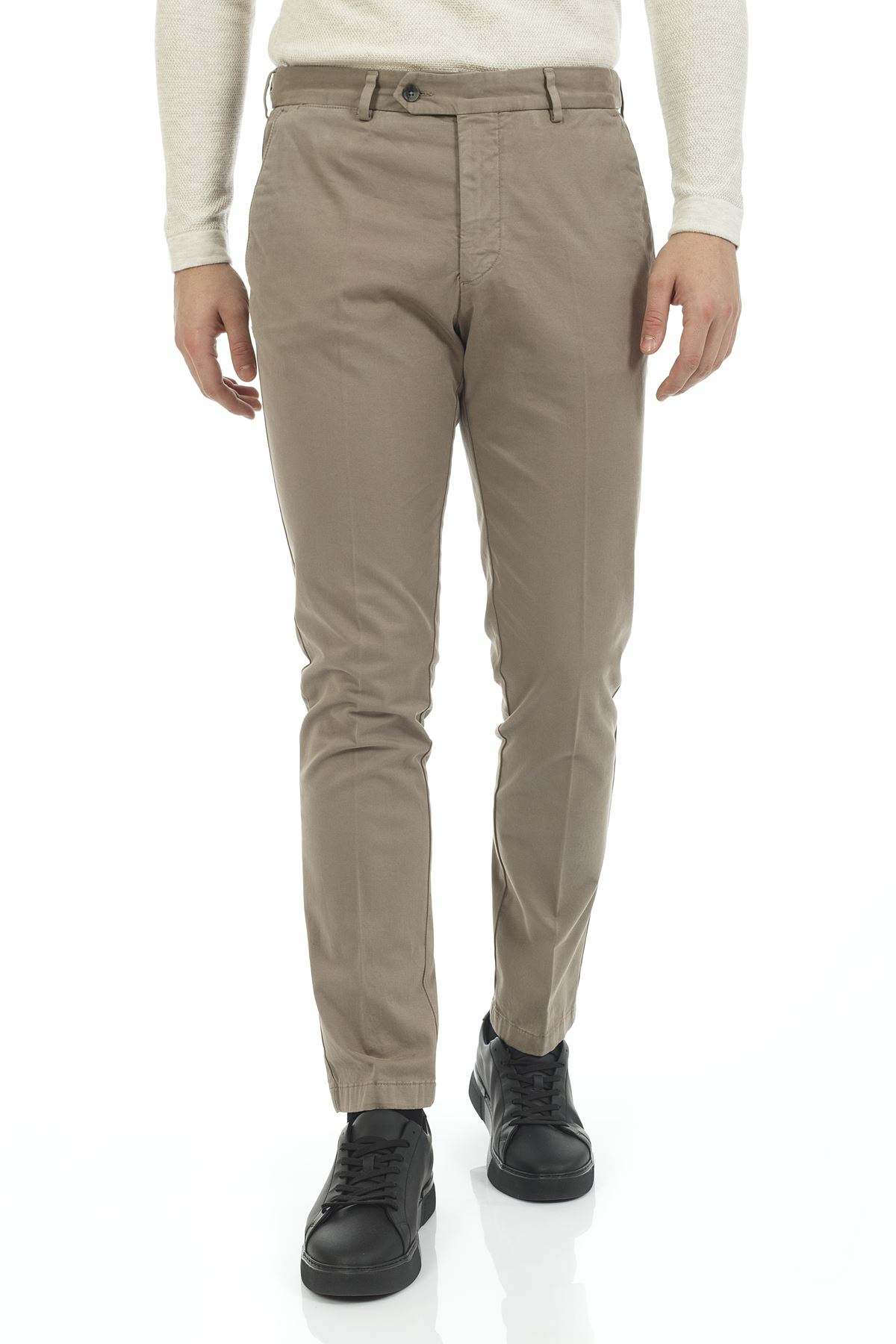 Vizon Dar Paça Slim Chino Pantolon