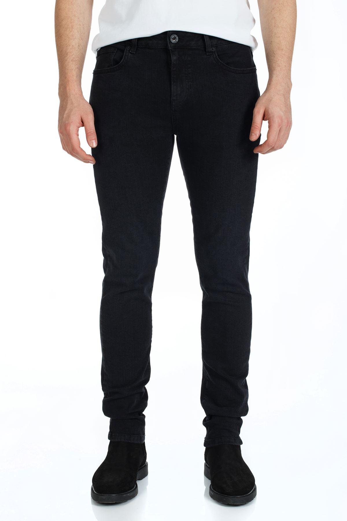 Black Slim Kalıp Denim Kot Pantolon