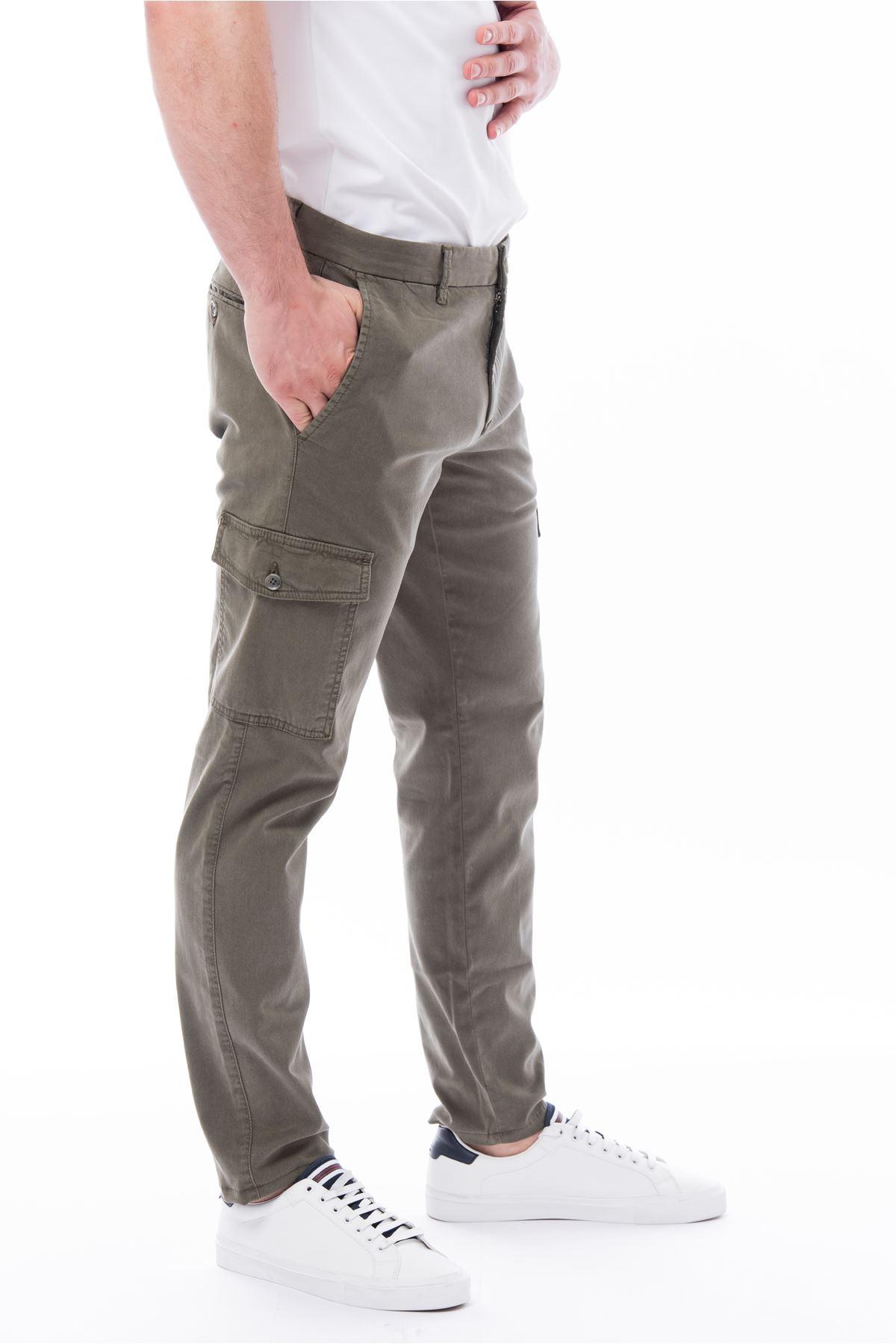 Haki Kargo Cep Pantolon